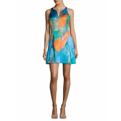 ミリー レディース ワンピース Racerback Print A-Line Dress