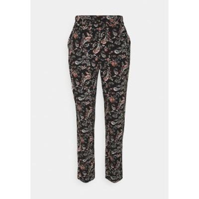 ヴェロモーダ レディース カジュアルパンツ ボトムス VMSIMPLY EASY PANTS - Trousers - black black