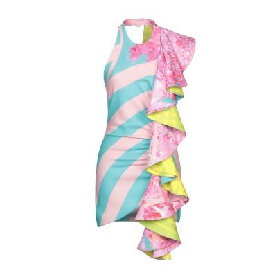 HALPERN ミニワンピース&ドレス ピンク 38 ポリエステル 100% ミニワンピース&ドレス