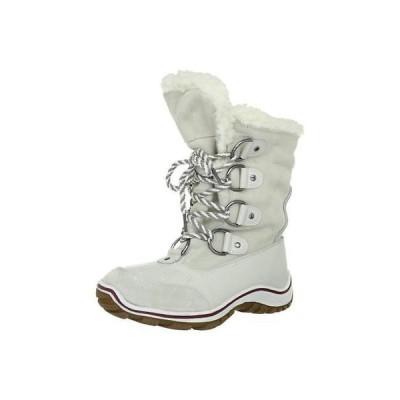 海外セレクション ブーツ 靴 Pajar 8391 レディース Alina ホワイト レザー スノー ブーツ シューズ 7 ミディアム (B,M) BHFO