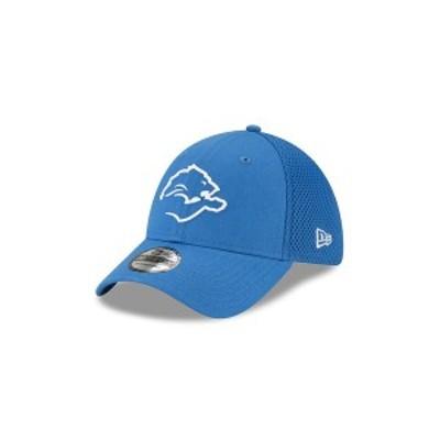 ニューエラ レディース 帽子 アクセサリー Detroit Lions Logo Elements Collection Neo 39THIRTY Cap LightBlue