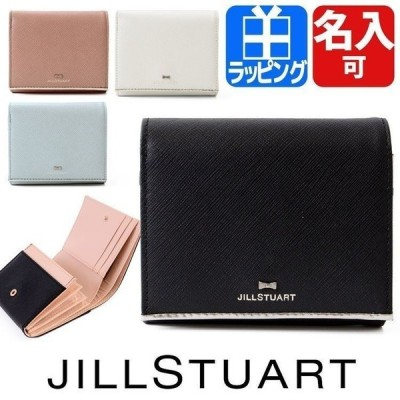 ジルスチュアート JILLSTUART 財布 二つ折り ミニ財布 レディース プリズム ショップバック付属 名入れ ギフト ラッピング 人気 おすすめ JSLW7DS1