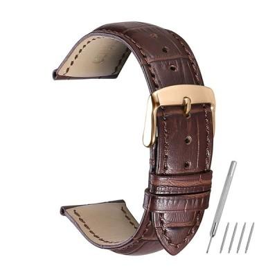時計バンド 14mm 16mm 18mm 19mm 20mm 21mm 22mm 24mm ベルト 本革 尾錠 スチールスプリングバーバック腕時計CHIMAERA
