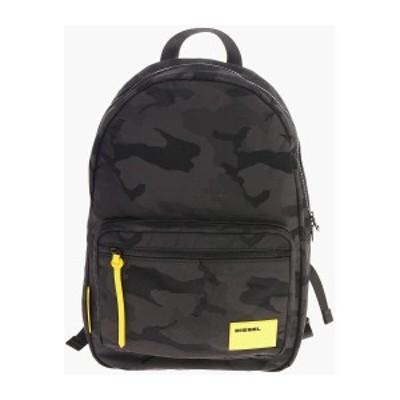 DIESEL/ディーゼル Black メンズ Camouflage F-DISCOVER BACK Backpack dk
