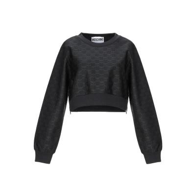 モスキーノ MOSCHINO スウェットシャツ ディープパープル 42 ポリエステル 100% スウェットシャツ