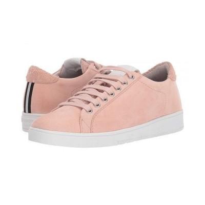 Blackstone レディース 女性用 シューズ 靴 スニーカー 運動靴 Low Sneaker Suede - RL85 - Cameo Rose