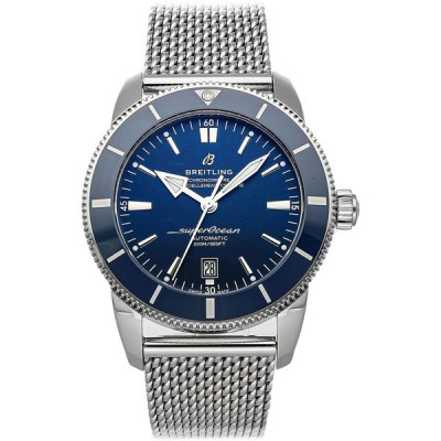 Breitling Blue Dial Stainless Steel Men's Watch AB2020161C1A1