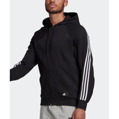 パーカー アディダス スポーツウェア 3ストライプス フード付きトラックトップ [adidas Sportswear 3-Stripes Hooded