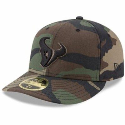New Era ニュー エラ スポーツ用品  New Era Houston Texans Woodland Camo Low Profile 59FIFTY Fitted Hat