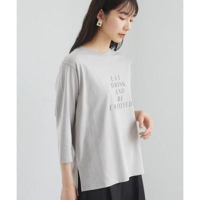 tシャツ Tシャツ ロゴPt7分袖プルオーバー*