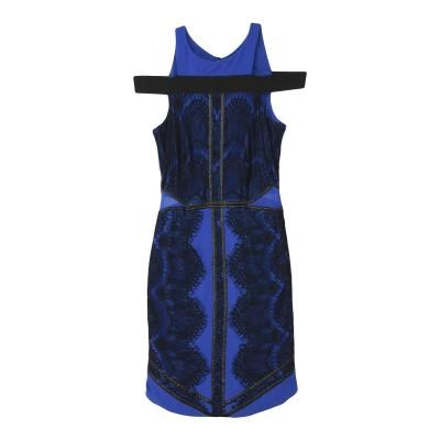 シルビアンヒーチ SILVIAN HEACH ミニワンピース&ドレス ブルー L ポリエステル 100% / ポリウレタン ミニワンピース&ドレス