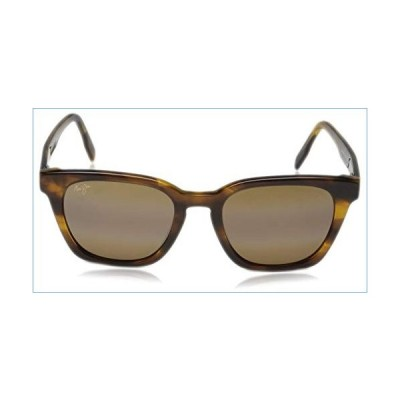 Maui Jim Shave Ice Square Sunglasses, Tortoise/HCL Bronze Polarized, Medium並行輸入品
