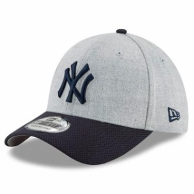 New Era ニュー エラ スポーツ用品  New Era New York Yankees Heathered Gray/Navy Change Up Redux 39THIRTY Flex Hat