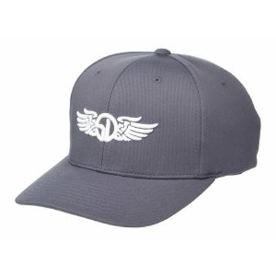 ストレイトダウン メンズ 帽子 アクセサリー SD Wings Flexfit Grey