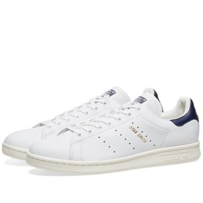 アディダス Adidas メンズ スニーカー シューズ・靴 Stan Smith White/Noble Ink