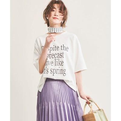 【ザ ヴァージニア】ロゴプリントTシャツ