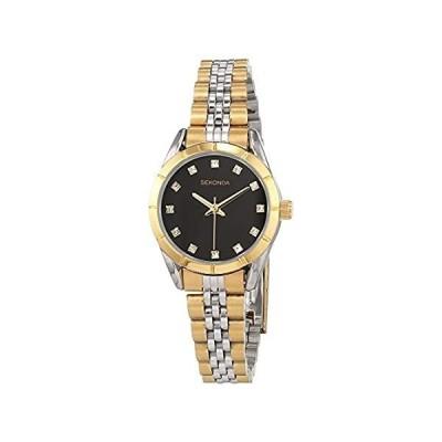 【新品】Sekonda Womens Analogue Classic Quartz Watch with Stainless Steel Strap 289
