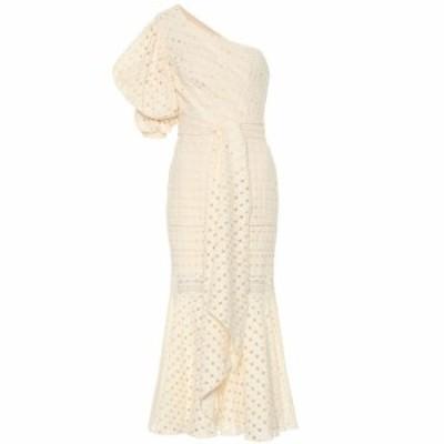 ジョアンナオッティ Johanna Ortiz レディース ワンピース ワンピース・ドレス Better Than Gold eyelet cotton dress Ecru