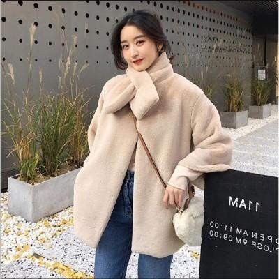 通勤 人気 フェイクファー 女性 防寒 レディース ショートコート上着 オフィス ジャケット 暖かい 冬物 毛皮コート アウター おしゃれ OL