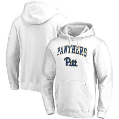 カレッジ パーカー NCAA ピッツバーグ大学 パンサーズ フーディー キャンパス プルオーバー ホワイト