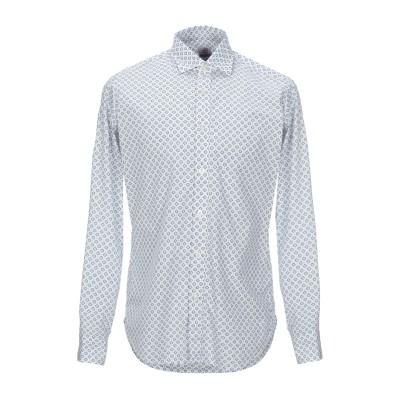 MOSCA シャツ ホワイト 40 コットン 100% シャツ