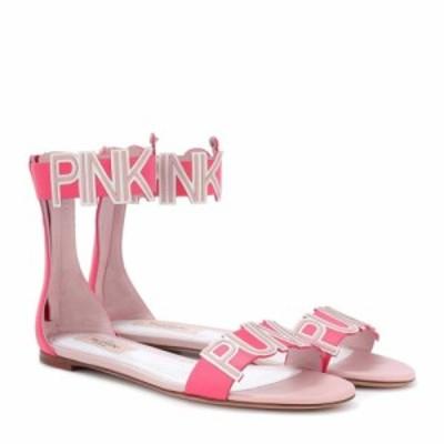 ヴァレンティノ Valentino レディース サンダル・ミュール シューズ・靴 Garavani Pink Is Punk sandals Pink