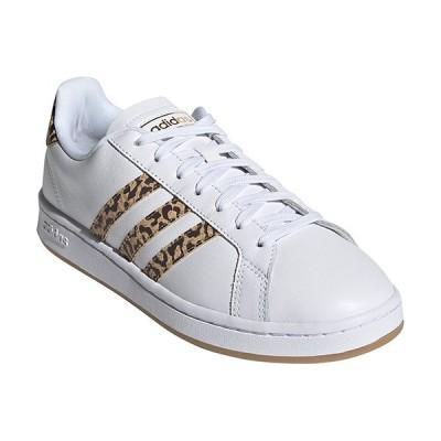 アディダス(adidas) レディース スニーカー グランドコート GRANDCOURTLEAW フットウェアホワイト/フットウェアホワイト/カードボード LEY76 FY8949