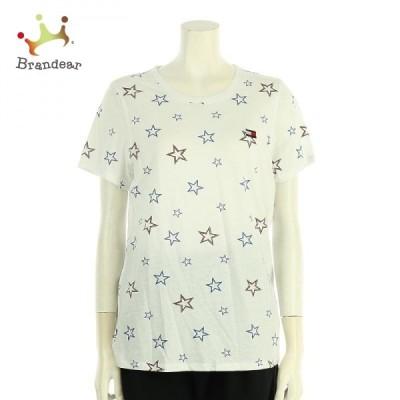 トミーヒルフィガー サイズXL レディース 新品同様 ホワイト系 Tシャツ・カットソー  値下げ 20210426