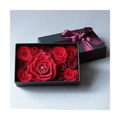 Makefuture Diamond Rose B プリザーブドフラワー ダイヤモンドローズ フラワーボックス 薔薇 バラの宝石箱