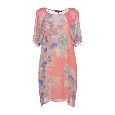 KATIA GIANNINI ミニワンピース&ドレス ピンク 42 ポリエステル 100% ミニワンピース&ドレス