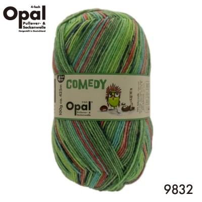 Opal Comedy(オパール コメディ)9832 【4ply 4本撚り】【靴下用毛糸】【2020春コレクション】