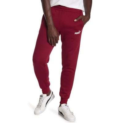プーマ メンズ カジュアルパンツ ボトムス Logo Sweat Pants RED