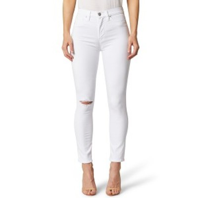 ハドソンジーンズ レディース デニムパンツ ボトムス Holly High Rise Crop Skinny Jeans BEAT UP WH