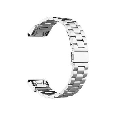 ガーミン GARMIN Approach S62, Fenix 6, ForeAthlete 945, ForeAthlete 935, Approach S60, Fenix 5, Fenix 5 Plus用 交換バンド 22mm 腕時計バ