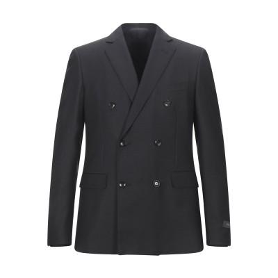 パル ジレリ PAL ZILERI テーラードジャケット ブラック 48 ウール 100% テーラードジャケット