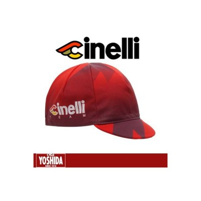 (秋の感謝セール)チネリ(CINELLI) 2018 TEAM CINELLI RACING キャップ