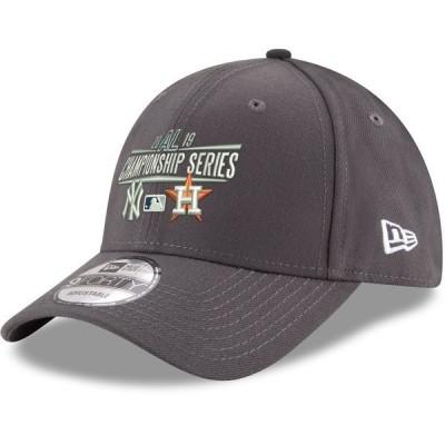 ニューエラ メンズ 帽子 アクセサリー New York Yankees vs. Houston Astros New Era 2019 ALCS Dueling 9FORTY Adjustable Hat
