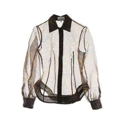 GANNI/ガニー カジュアルシャツ TIGER Ganni tiger print shirt レディース F3656 ik