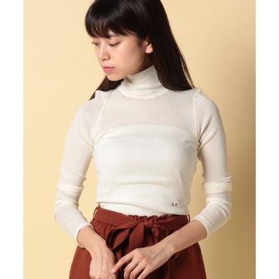 【ビューティフルピープル】wool tereko hi neck pullover