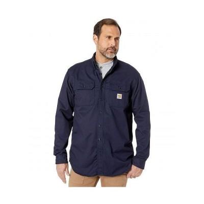 Carhartt カーハート メンズ 男性用 ファッション ボタンシャツ Flame-Resistant (FR) Classic Twill Shirt - Dark Navy