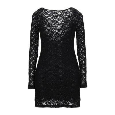 サイクル CYCLE ミニワンピース&ドレス ブラック XS コットン 60% / ナイロン 40% ミニワンピース&ドレス