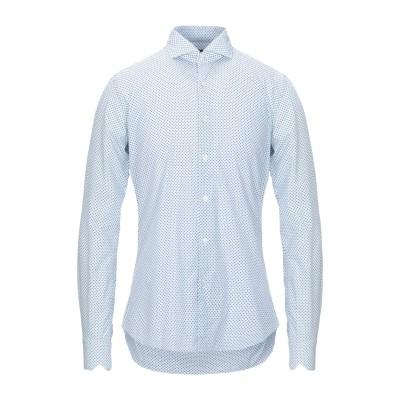 XACUS シャツ ホワイト 43 コットン 100% シャツ