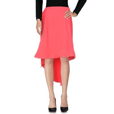 マルニ MARNI ひざ丈スカート フューシャ 48 レーヨン 100% ひざ丈スカート