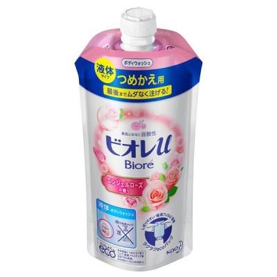 ビオレu エンジェルローズの香り つめかえ用 340ml 花王株式会社 (D)