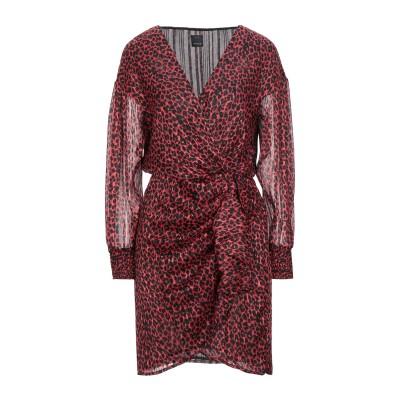 ピンコ PINKO ミニワンピース&ドレス レッド 38 ポリエステル 98% / 金属繊維 2% ミニワンピース&ドレス