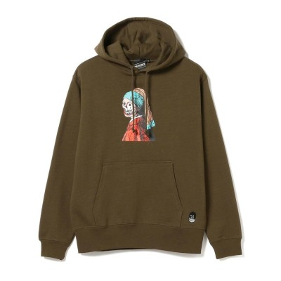 (BEAMS OUTLET/ビームス アウトレット)【SPECIAL PRICE】BEAMS T / Earring Hoody/メンズ OLIVE