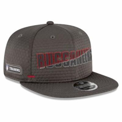 """メンズ キャップ """"Tampa Bay Buccaneers"""" New Era 2020 NFL Summer Sideline Official 9FIFTY Snapback Adjustable Hat - Brown"""