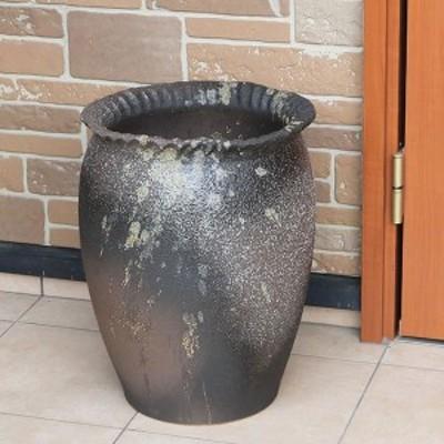 傘立て 陶器 アンブレラスタンド かさたて  傘入れ 壷  信楽焼 おしゃれ 和風 北欧【手作り】