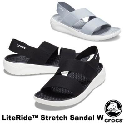 【送料無料】クロックス(CROCS) ライトライド ストレッチ サンダル ウィメン(literide stretch sandal w) サンダル【女性用】[AA]【15】