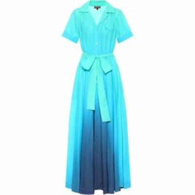 スタウド Staud レディース ワンピース シャツワンピース ワンピース・ドレス Millie Shirt Dress Blue Ombre